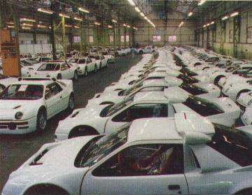 Ford RS200 Homologation