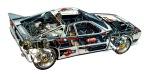 Lancia Rally 037 Drawing (3200x1630)