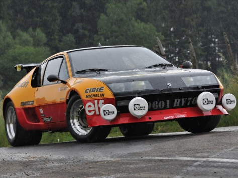 Renault Alpine A310 V6 - Group 4/B