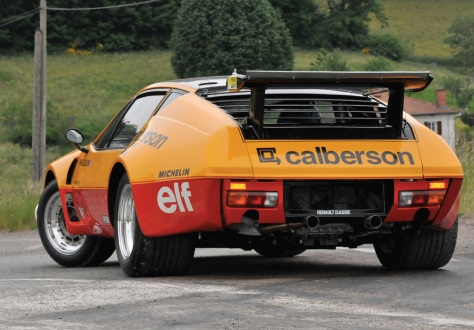 Renault Alpine A310 V6 Group B